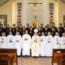 Đức Cha Phêrô  Bài giảng lễ mặc áo dòng Tân chủng sinh Gp Mỹ tho khóa 17