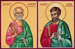 Ngày 28-10: Thánh Simon và Giuđa, tông đồ