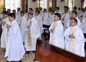 Đức Cha Phêrô Bài giảng lễ bế mạc tuần thường huấn Linh mục