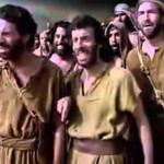 Vượt qua Biển Đỏ trong Phim 10 Điều Răn