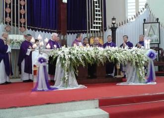 Thánh lễ An táng Đức ông Phêrô Nguyễn Văn Tài (Giám đốc Đài Chân Lý Á Châu)