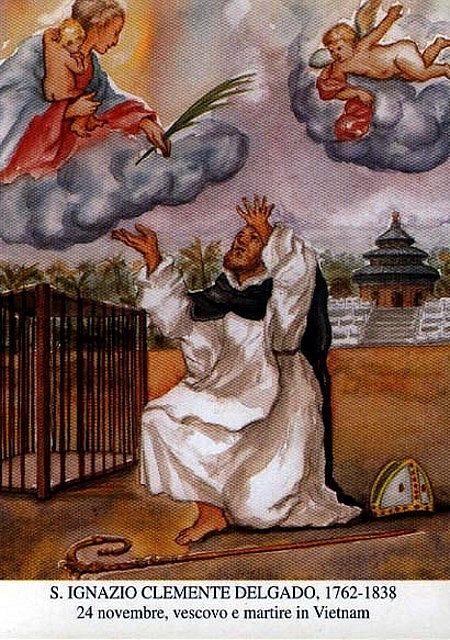 Ignatio-DELGADO-Y-Thánh Ignatiô DELGADO Y, Giám mục dòng Đaminh (1762-1838)