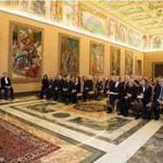 PopeFrancis-Đức Thánh Cha gặp Ủy ban quốc gia Italia về đạo đức sinh học