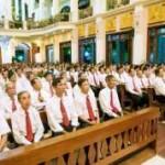 Giáo xứ Chợ Cầu Thánh lễ Lòng Thương Xót