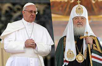 Lần đầu tiên trong lịch sử: Đức Giáo hoàng và Thượng phụ Chính thống giáo Matxcơva sẽ gặp nhau
