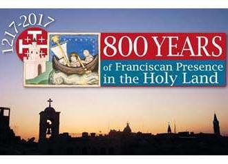 Sứ điệp Đức Thánh Cha 800 năm dòng Phanxicô tại Thánh Địa